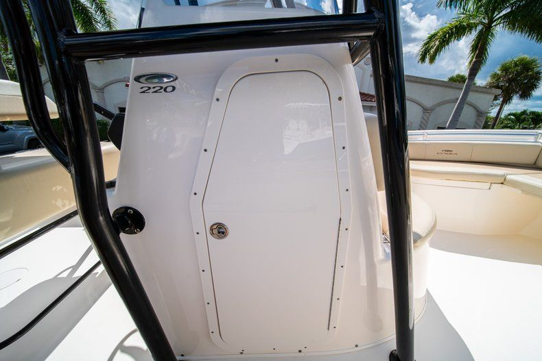 Thumbnail 26 for Used 2017 Cobia 220 Center Console boat for sale in West Palm Beach, FL
