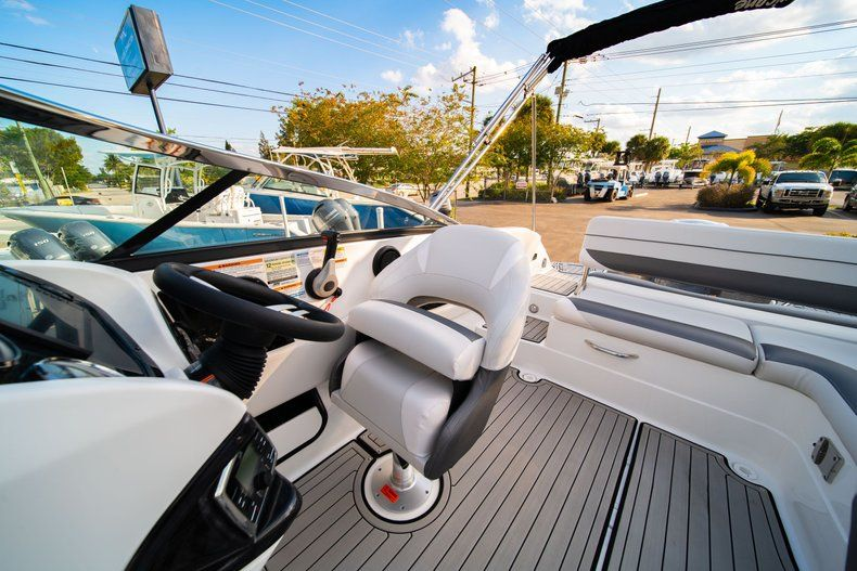 Thumbnail 16 for Used 2019 Hurricane SunDeck SD 2410 OB boat for sale in West Palm Beach, FL