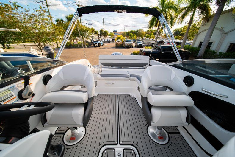 Thumbnail 15 for Used 2019 Hurricane SunDeck SD 2410 OB boat for sale in West Palm Beach, FL