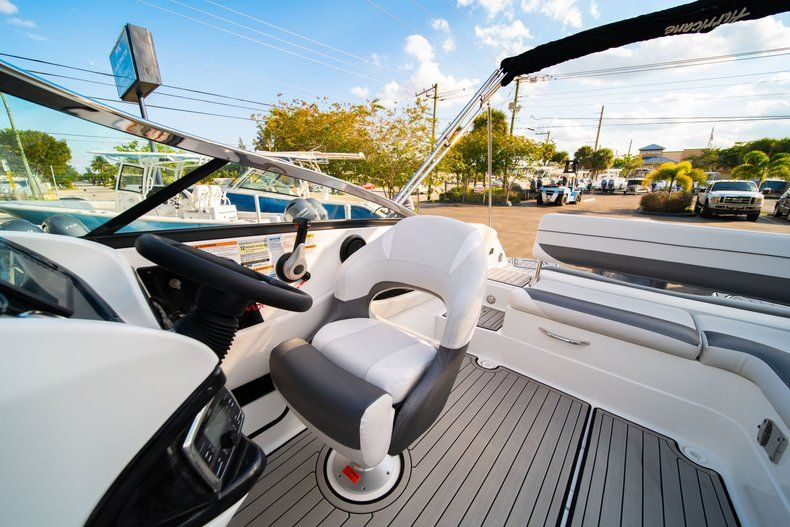 Thumbnail 17 for Used 2019 Hurricane SunDeck SD 2410 OB boat for sale in West Palm Beach, FL