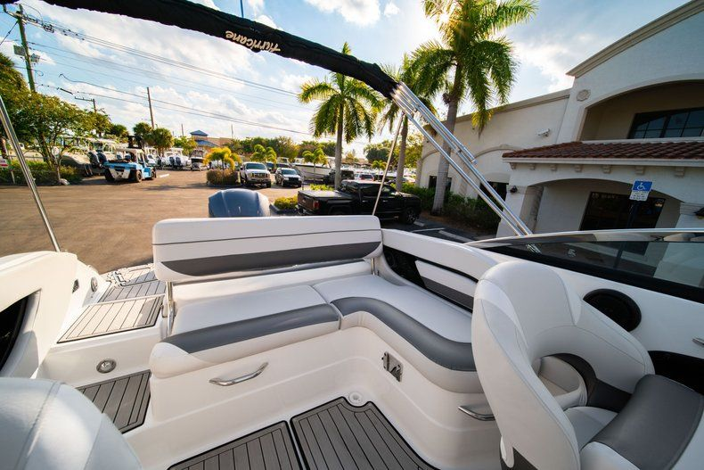 Thumbnail 9 for Used 2019 Hurricane SunDeck SD 2410 OB boat for sale in West Palm Beach, FL