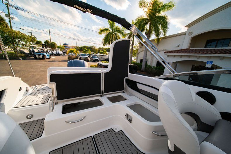 Thumbnail 10 for Used 2019 Hurricane SunDeck SD 2410 OB boat for sale in West Palm Beach, FL
