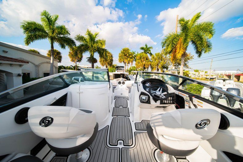 Thumbnail 8 for Used 2019 Hurricane SunDeck SD 2410 OB boat for sale in West Palm Beach, FL