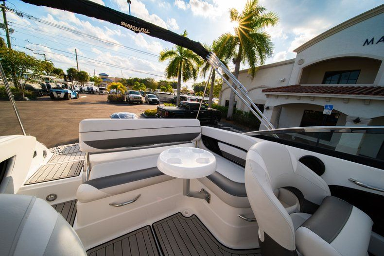 Thumbnail 12 for Used 2019 Hurricane SunDeck SD 2410 OB boat for sale in West Palm Beach, FL