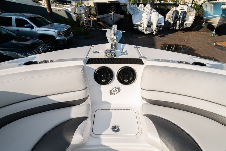 Thumbnail 35 for Used 2019 Hurricane SunDeck SD 2410 OB boat for sale in West Palm Beach, FL