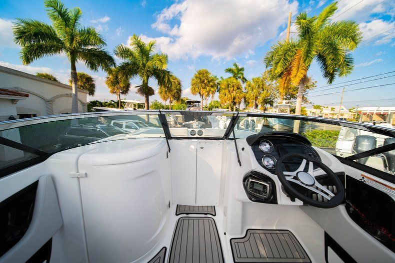Thumbnail 28 for Used 2019 Hurricane SunDeck SD 2410 OB boat for sale in West Palm Beach, FL