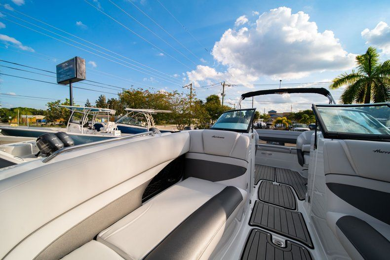 Thumbnail 37 for Used 2019 Hurricane SunDeck SD 2410 OB boat for sale in West Palm Beach, FL