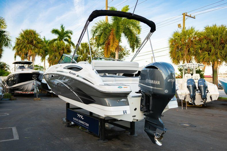 Thumbnail 5 for Used 2019 Hurricane SunDeck SD 2410 OB boat for sale in West Palm Beach, FL