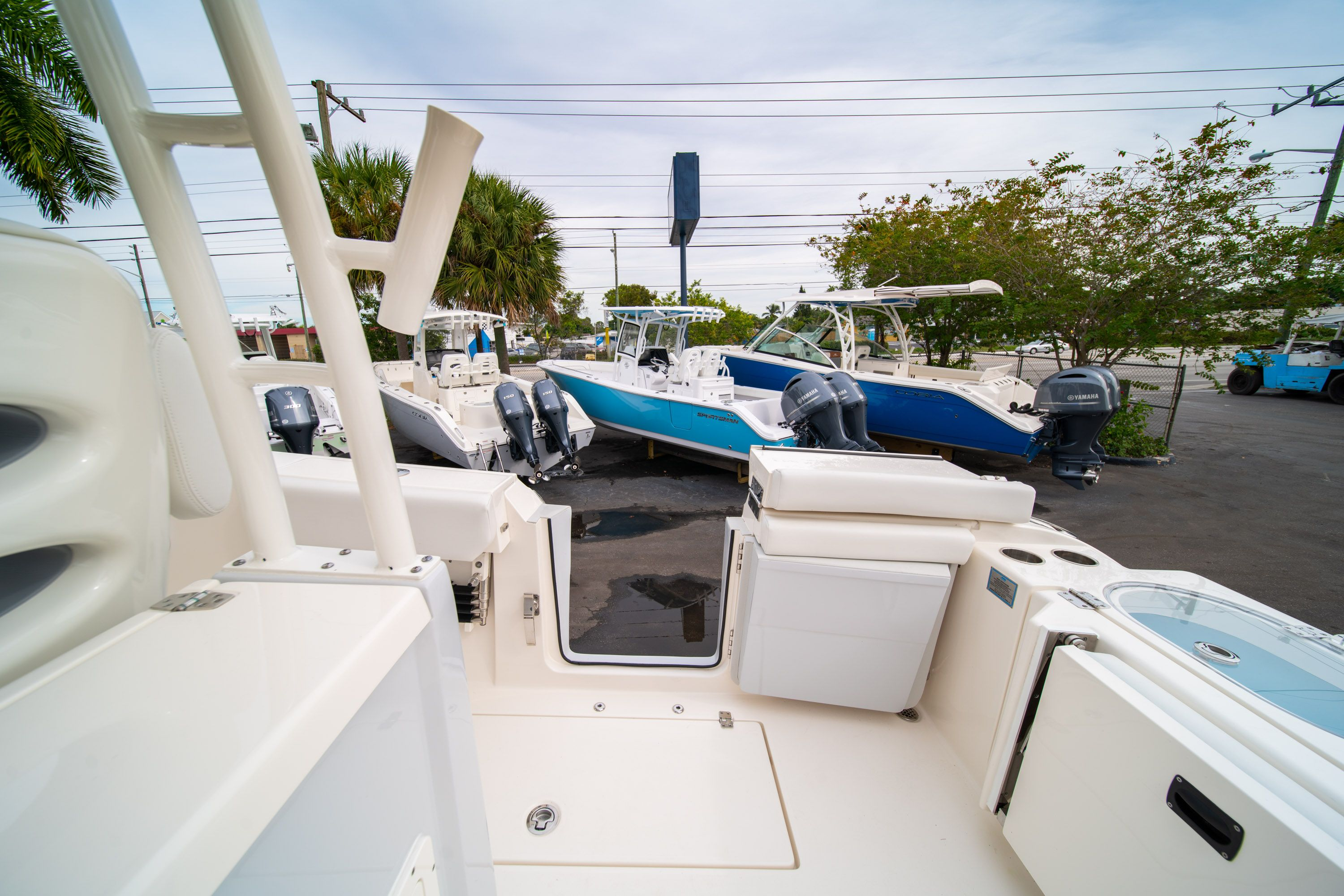 Thumbnail 17 for Used 2019 Cobia 301 CC Center Console boat for sale in West Palm Beach, FL
