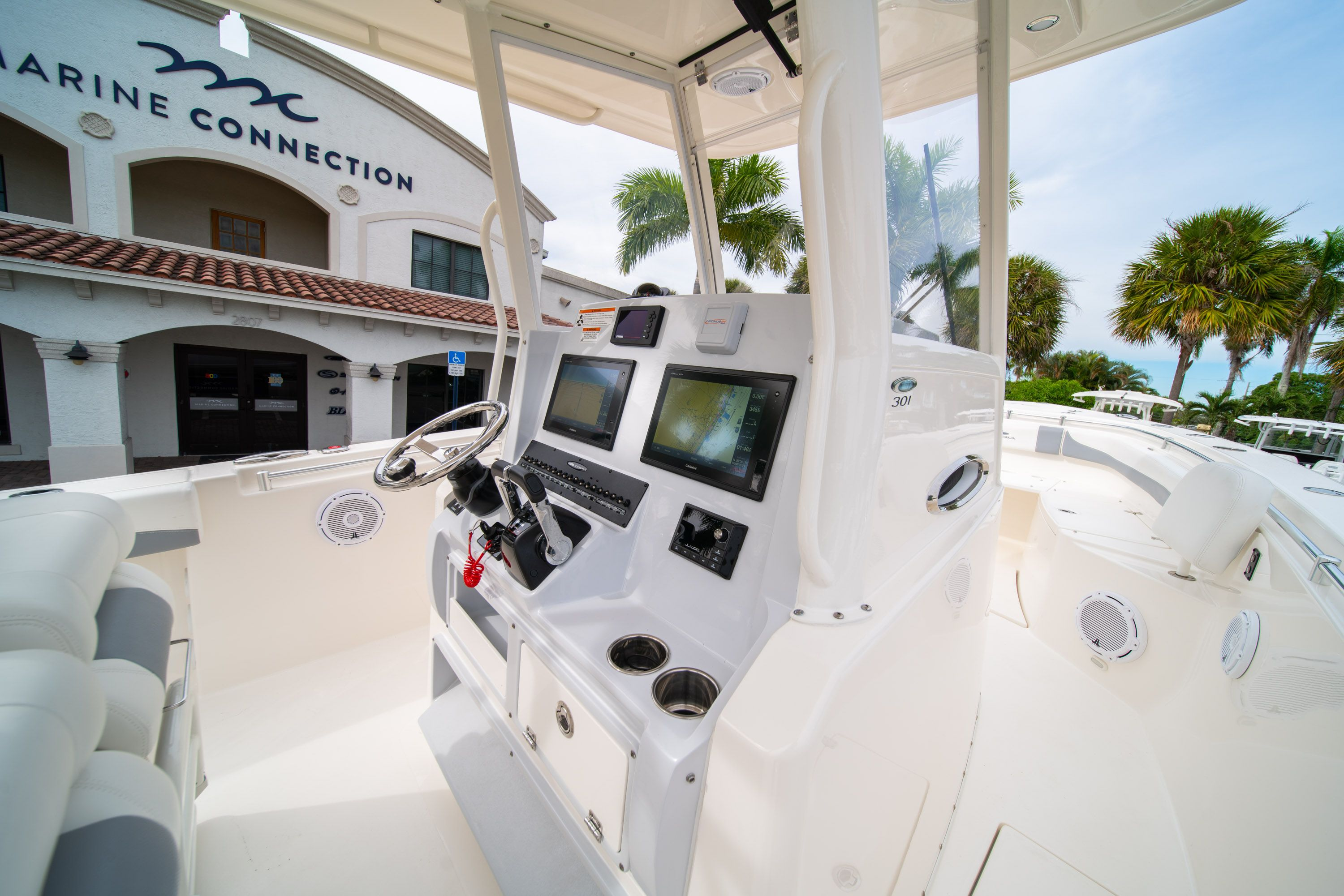 Thumbnail 28 for Used 2019 Cobia 301 CC Center Console boat for sale in West Palm Beach, FL