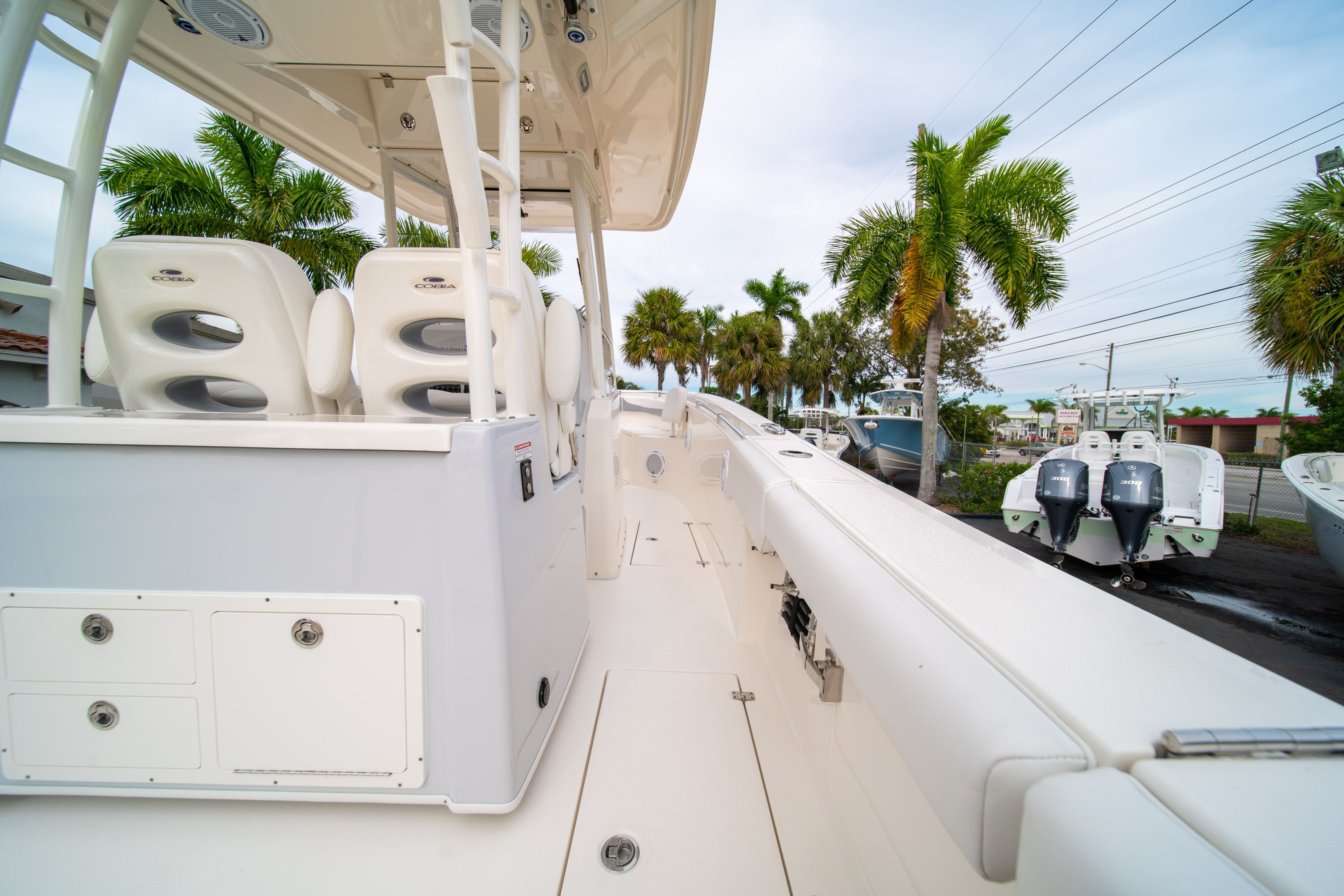 Thumbnail 18 for Used 2019 Cobia 301 CC Center Console boat for sale in West Palm Beach, FL