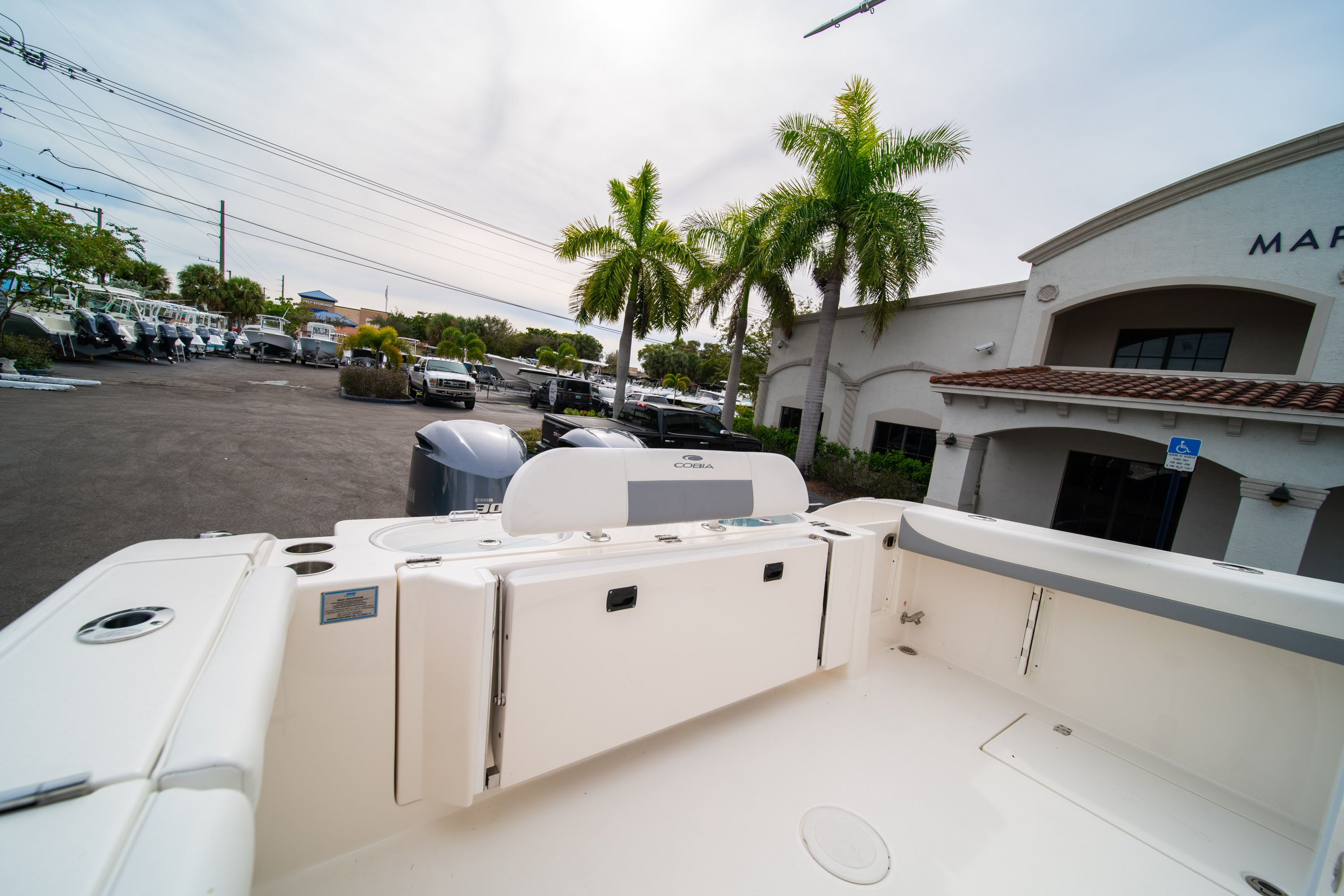 Thumbnail 9 for Used 2019 Cobia 301 CC Center Console boat for sale in West Palm Beach, FL