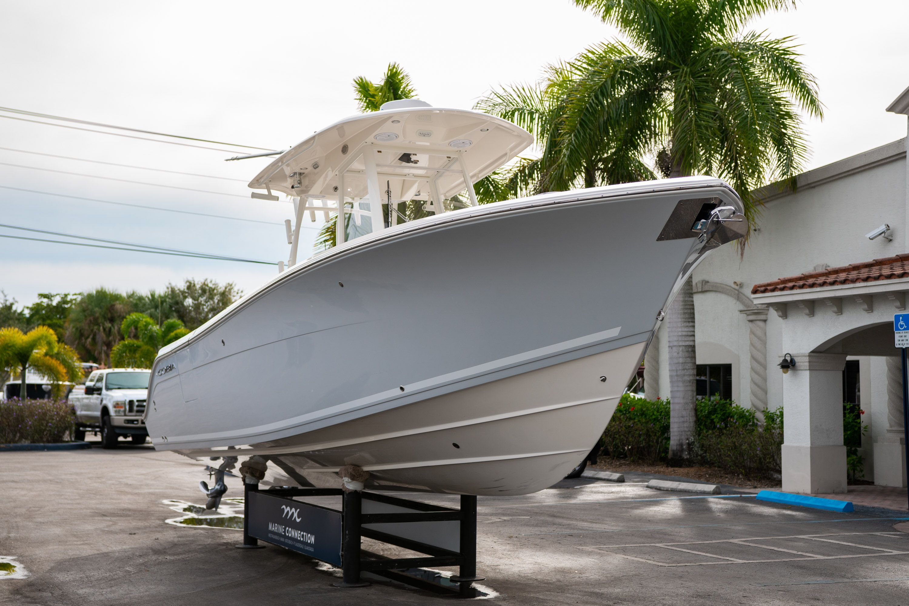 Thumbnail 1 for Used 2019 Cobia 301 CC Center Console boat for sale in West Palm Beach, FL
