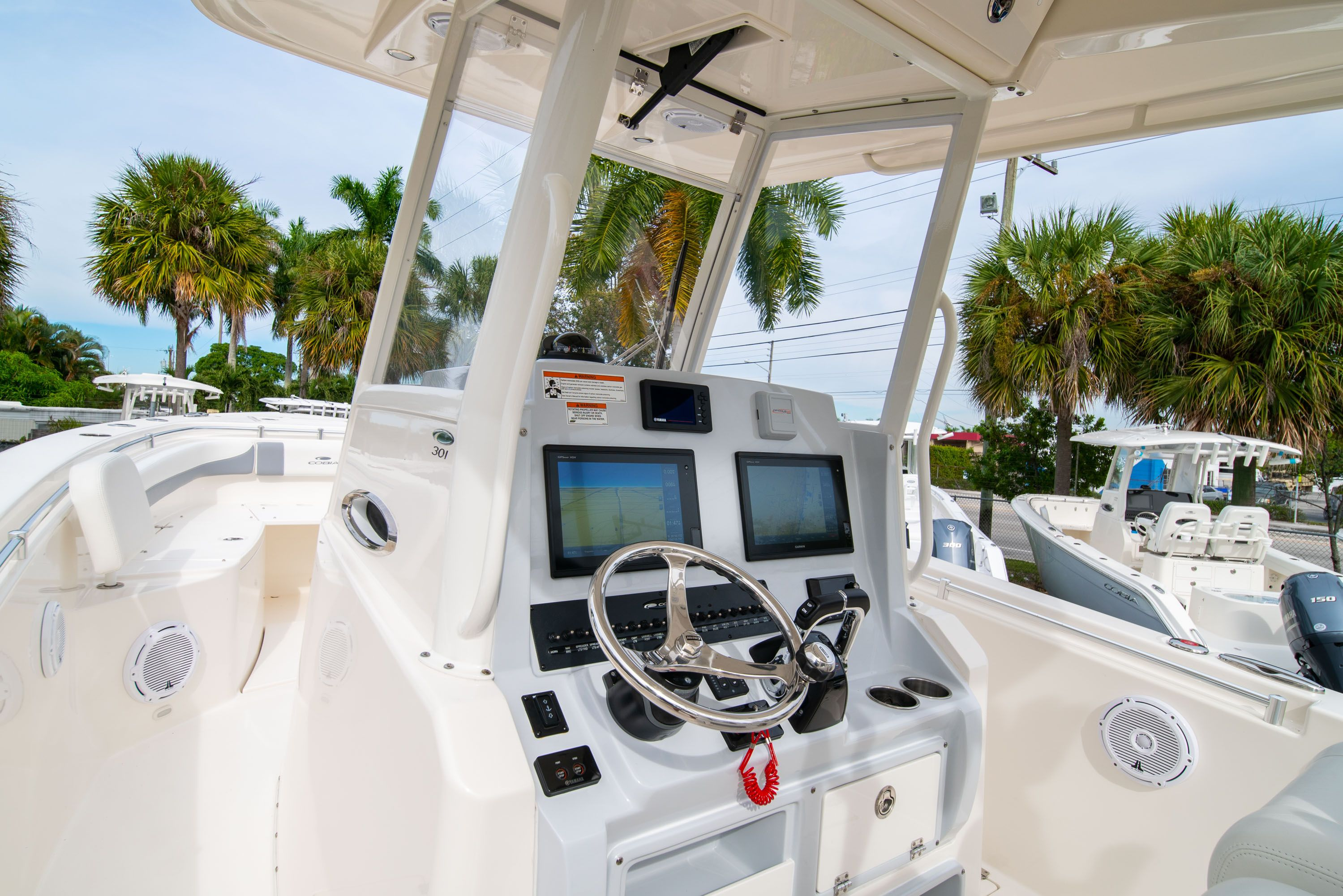 Thumbnail 34 for Used 2019 Cobia 301 CC Center Console boat for sale in West Palm Beach, FL