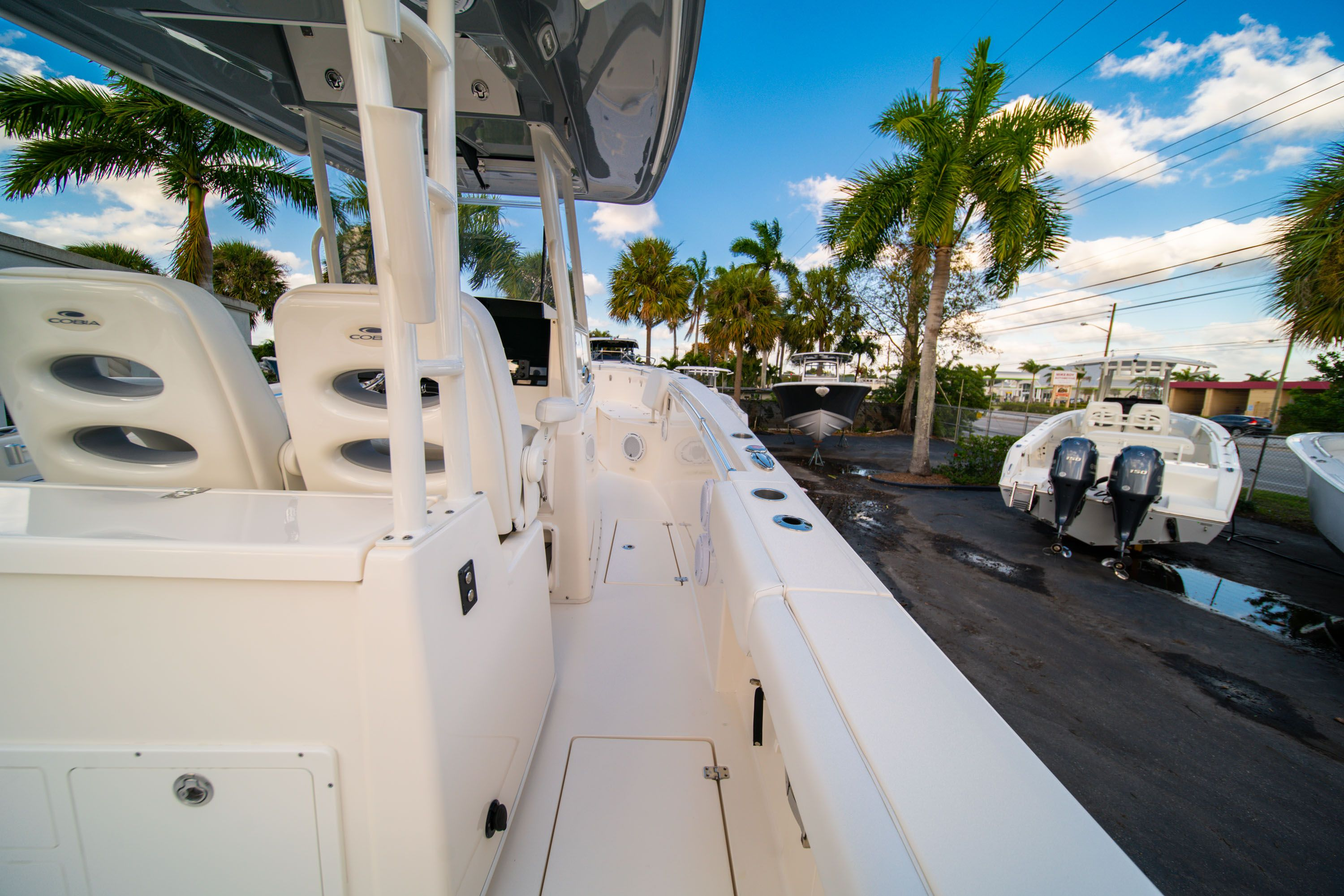 Thumbnail 19 for Used 2019 Cobia 301 CC Center Console boat for sale in West Palm Beach, FL