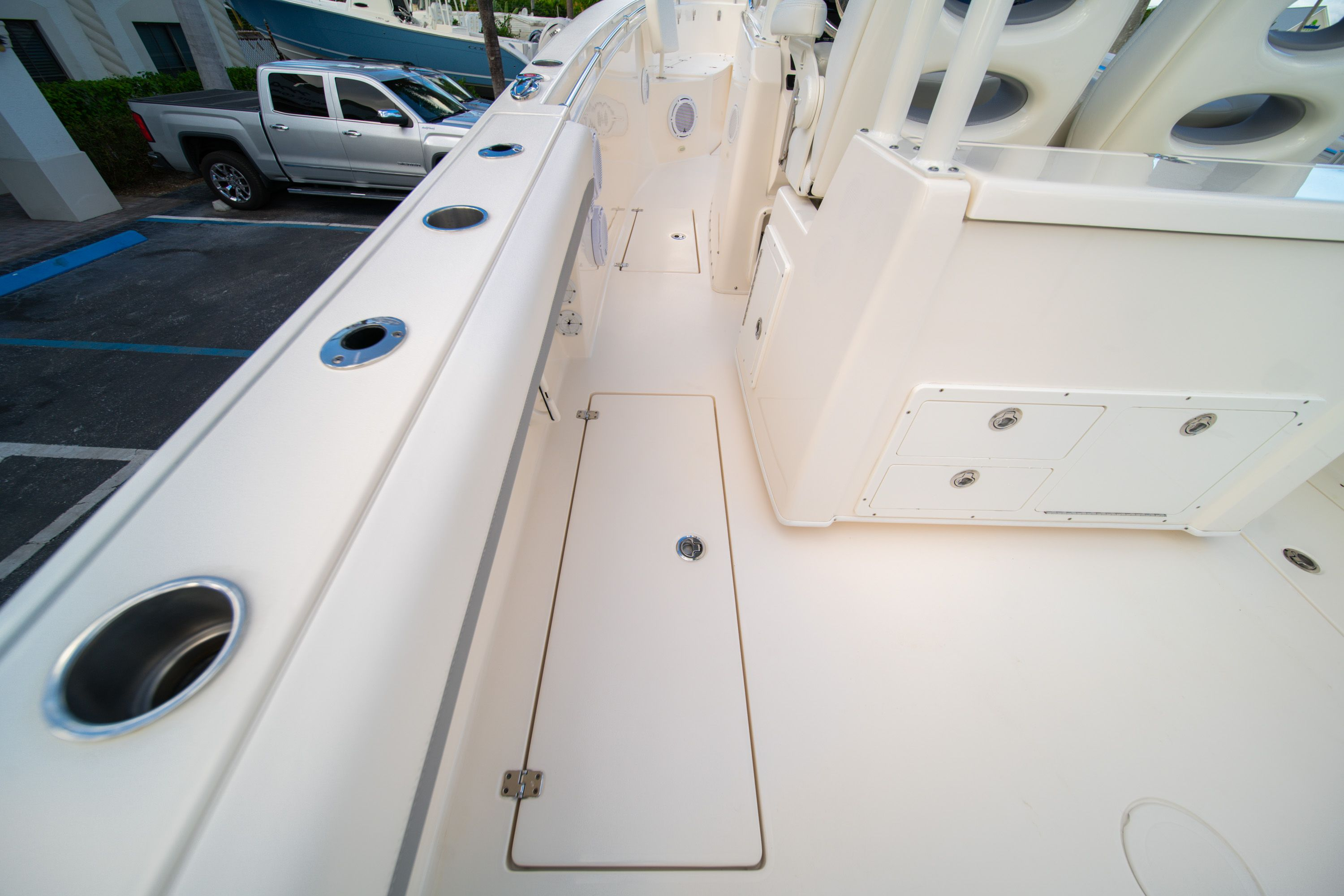 Thumbnail 26 for Used 2019 Cobia 301 CC Center Console boat for sale in West Palm Beach, FL