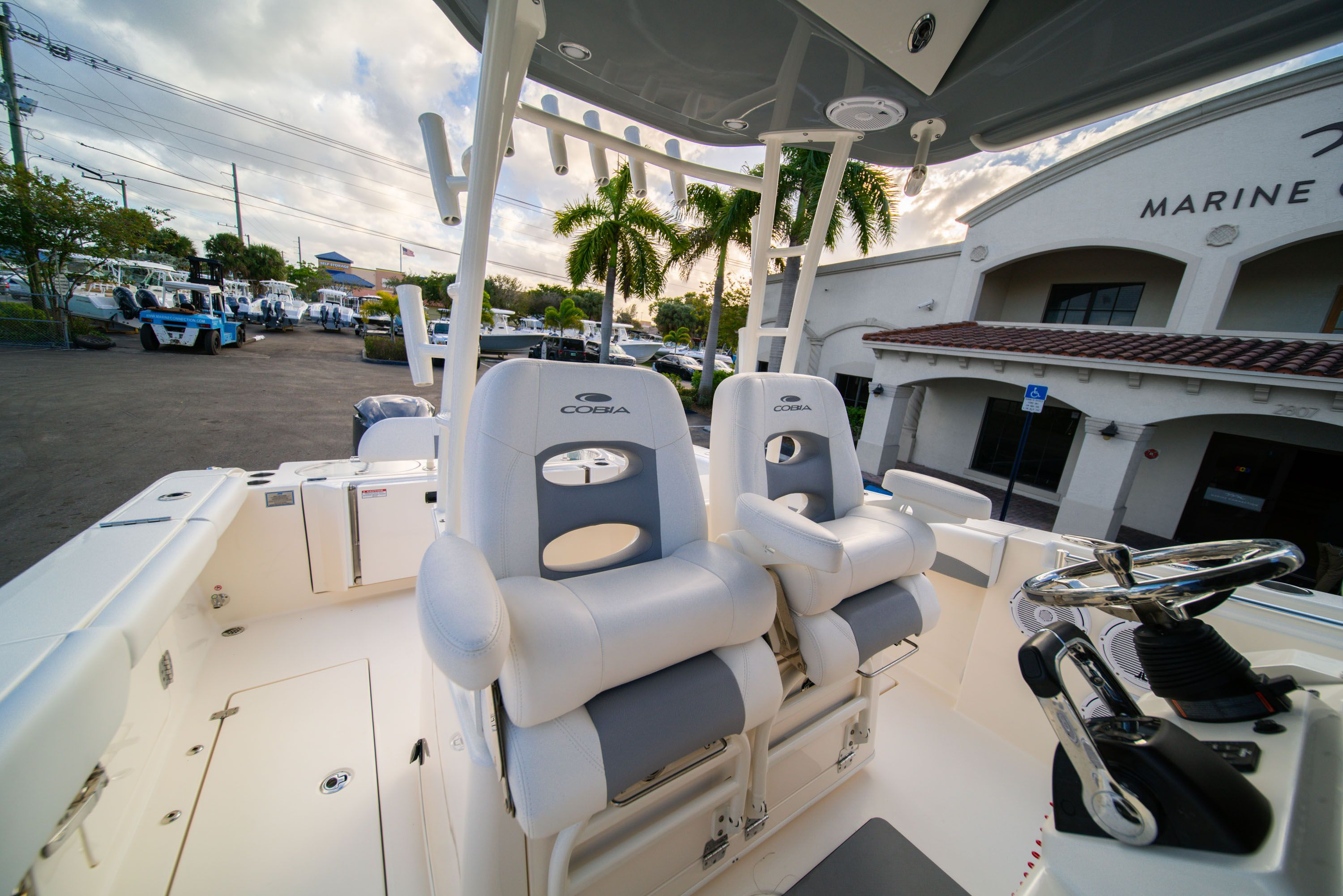 Thumbnail 37 for Used 2019 Cobia 301 CC Center Console boat for sale in West Palm Beach, FL