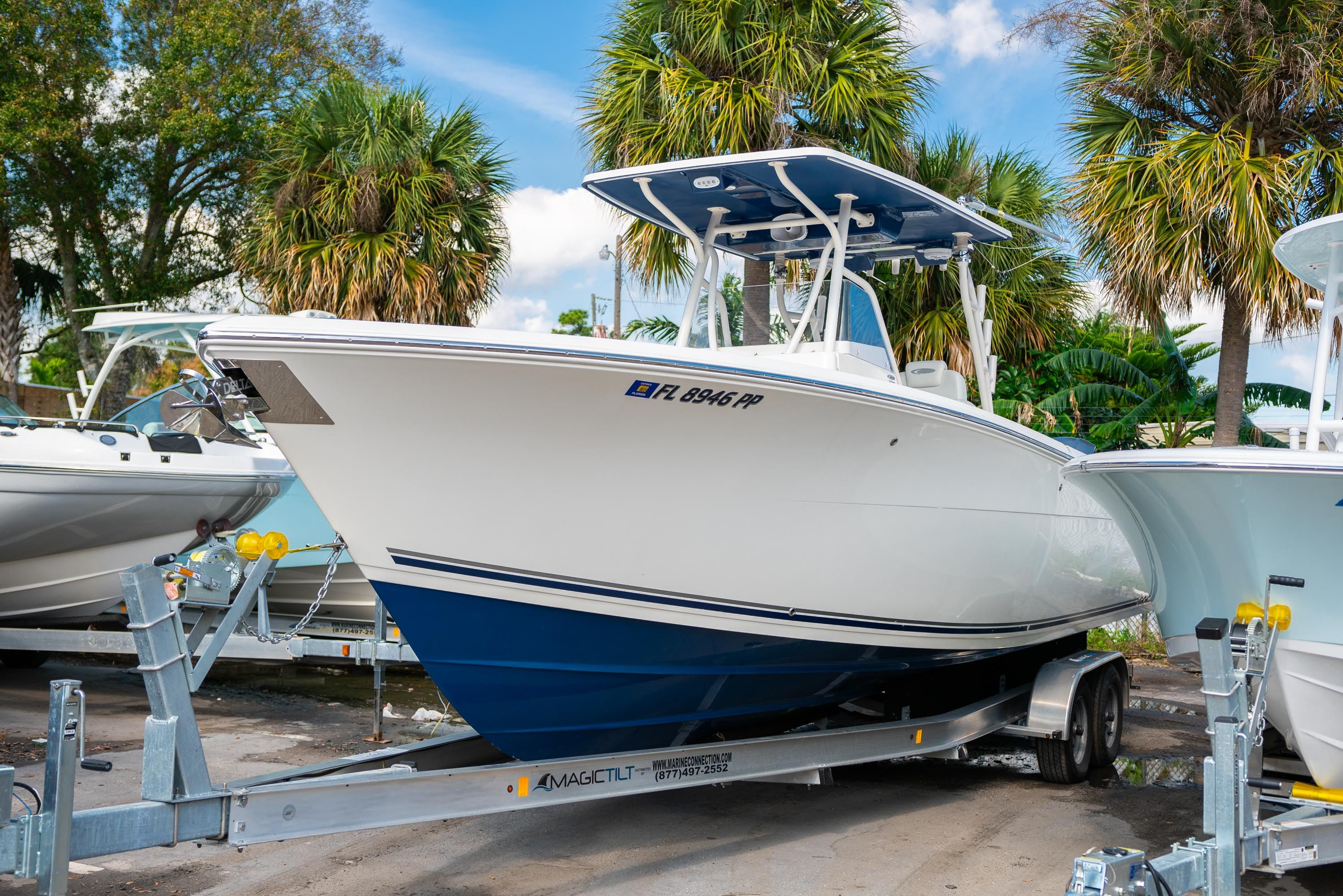 Thumbnail 2 for Used 2014 Cobia 296 Center Console boat for sale in West Palm Beach, FL
