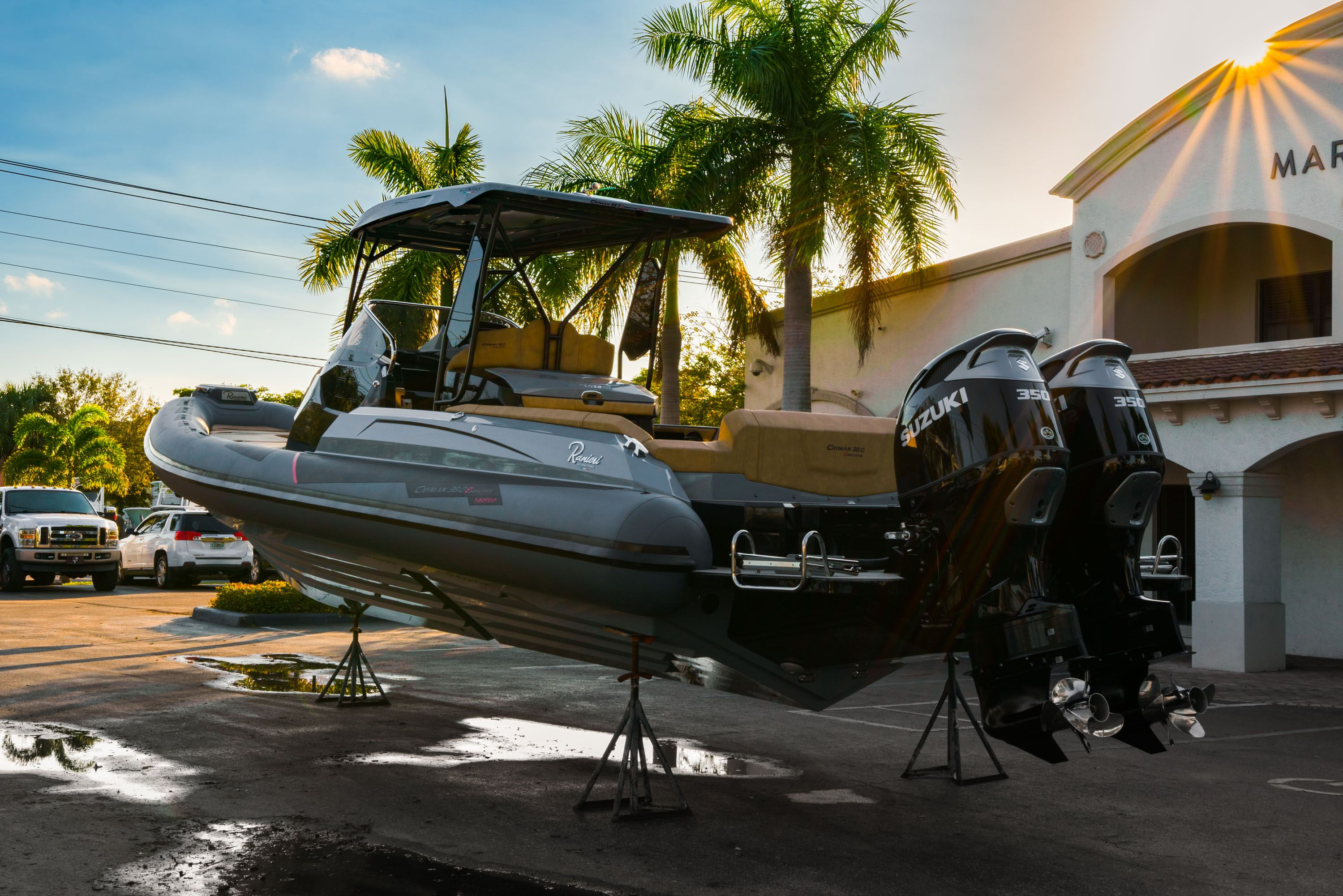 Thumbnail 1 for New 2019 Ranieri Cayman 38 Executive boat for sale in West Palm Beach, FL