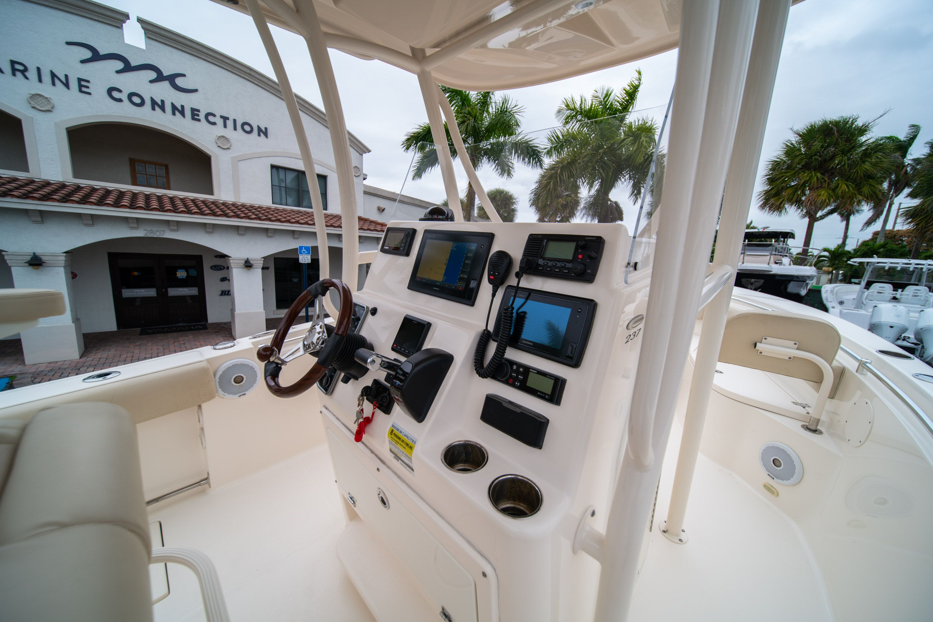 Thumbnail 25 for Used 2016 Cobia 237 Center Console boat for sale in West Palm Beach, FL
