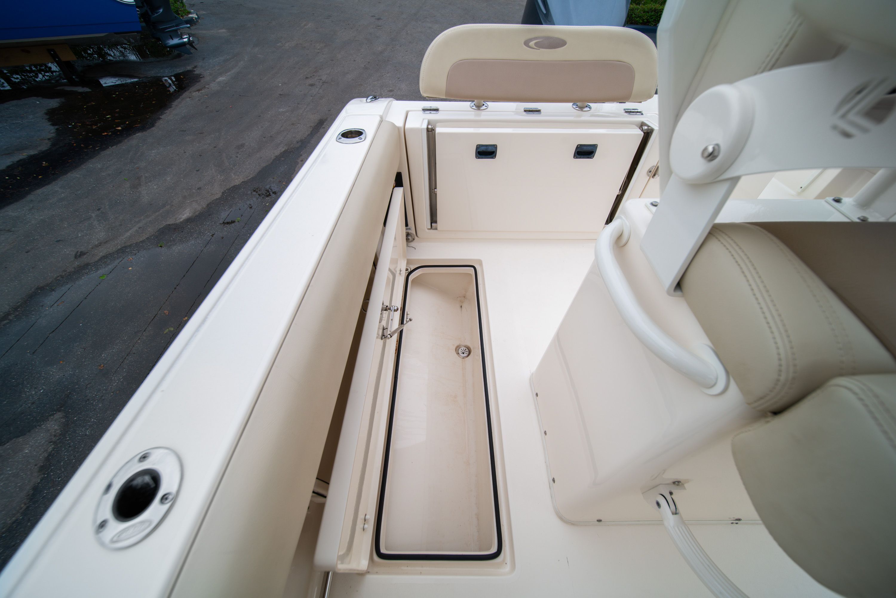 Thumbnail 18 for Used 2016 Cobia 237 Center Console boat for sale in West Palm Beach, FL