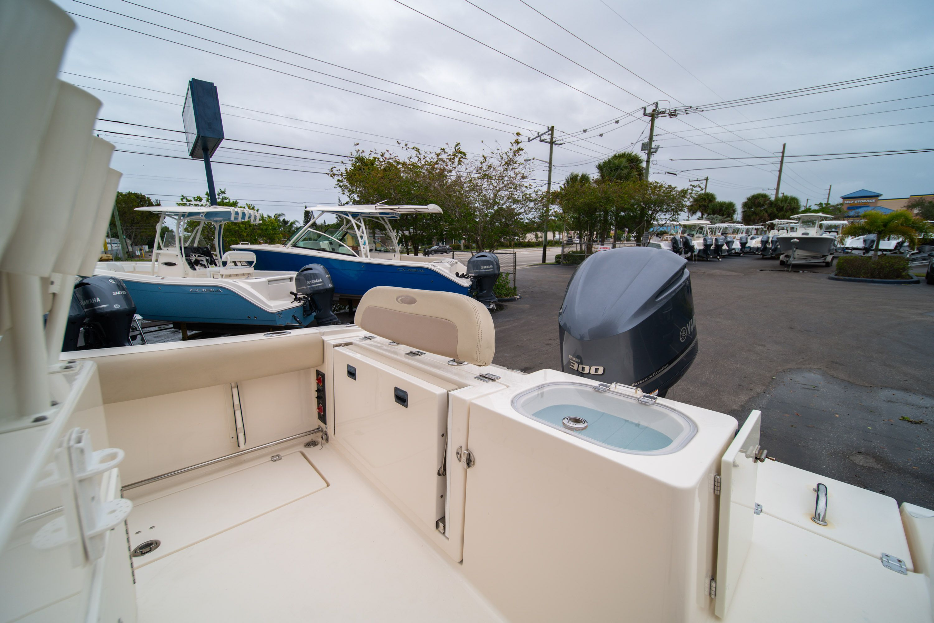 Thumbnail 11 for Used 2016 Cobia 237 Center Console boat for sale in West Palm Beach, FL