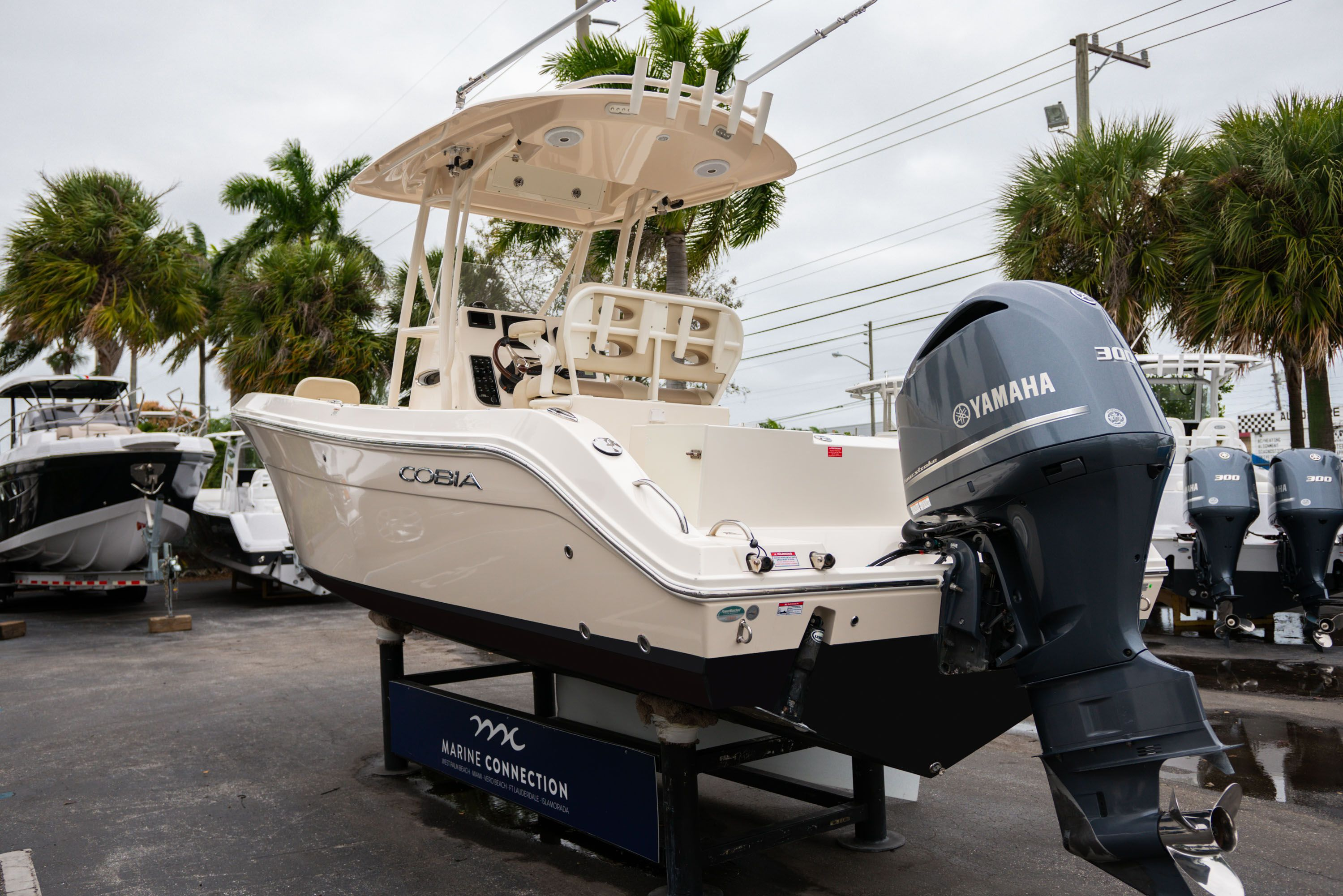 Thumbnail 5 for Used 2016 Cobia 237 Center Console boat for sale in West Palm Beach, FL