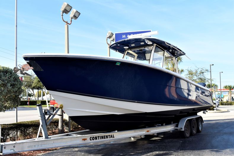 Thumbnail 1 for Used 2015 Cobia 344 Center Console boat for sale in Vero Beach, FL