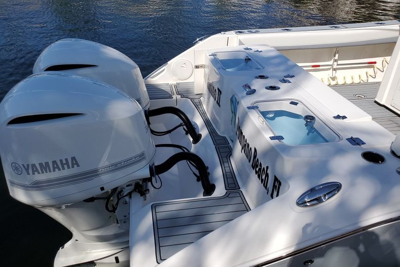 Thumbnail 1 for Used 2018 Cobia 320 Center Console boat for sale in West Palm Beach, FL