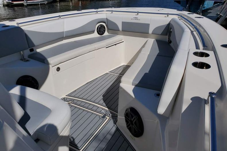 Thumbnail 3 for Used 2018 Cobia 320 Center Console boat for sale in West Palm Beach, FL