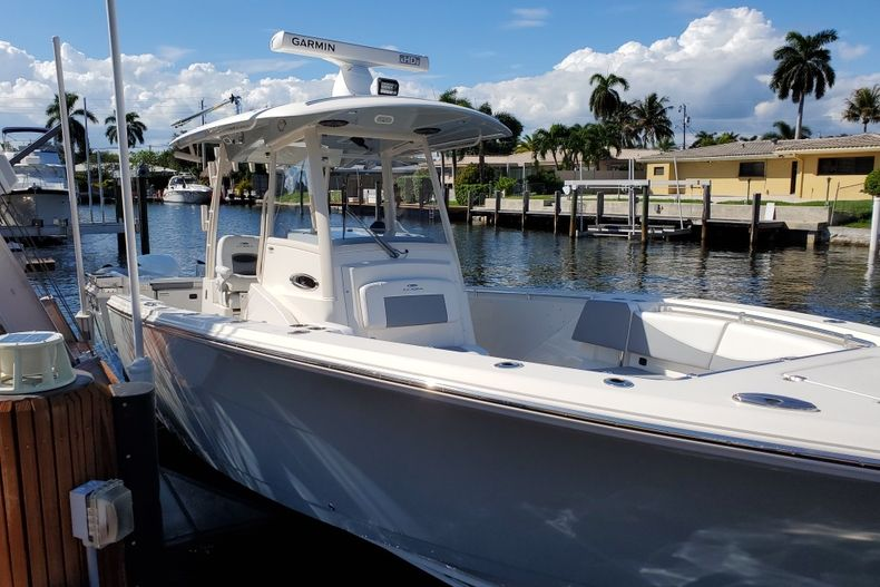 Thumbnail 8 for Used 2018 Cobia 320 Center Console boat for sale in West Palm Beach, FL