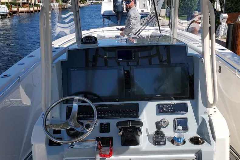 Thumbnail 6 for Used 2018 Cobia 320 Center Console boat for sale in West Palm Beach, FL