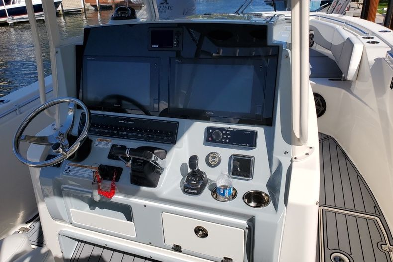 Thumbnail 5 for Used 2018 Cobia 320 Center Console boat for sale in West Palm Beach, FL