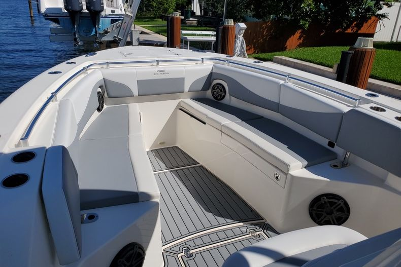 Thumbnail 2 for Used 2018 Cobia 320 Center Console boat for sale in West Palm Beach, FL