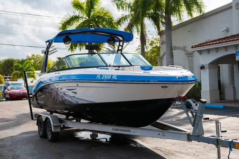 Thumbnail 1 for Used 2017 Chaparral 2430 VRX boat for sale in West Palm Beach, FL