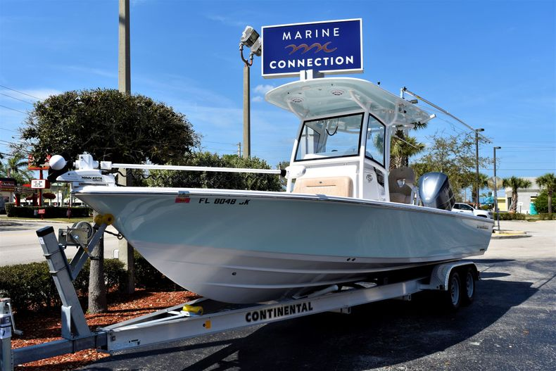 Thumbnail 1 for Used 2019 Sportsman Masters 267 Bay Boat boat for sale in Vero Beach, FL