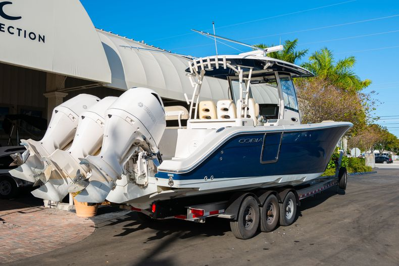Thumbnail 1 for Used 2017 Cobia 344 Center Console boat for sale in West Palm Beach, FL
