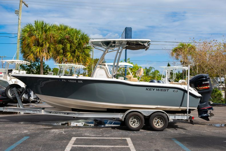 Thumbnail 6 for Used 2017 Key West 239FS boat for sale in West Palm Beach, FL