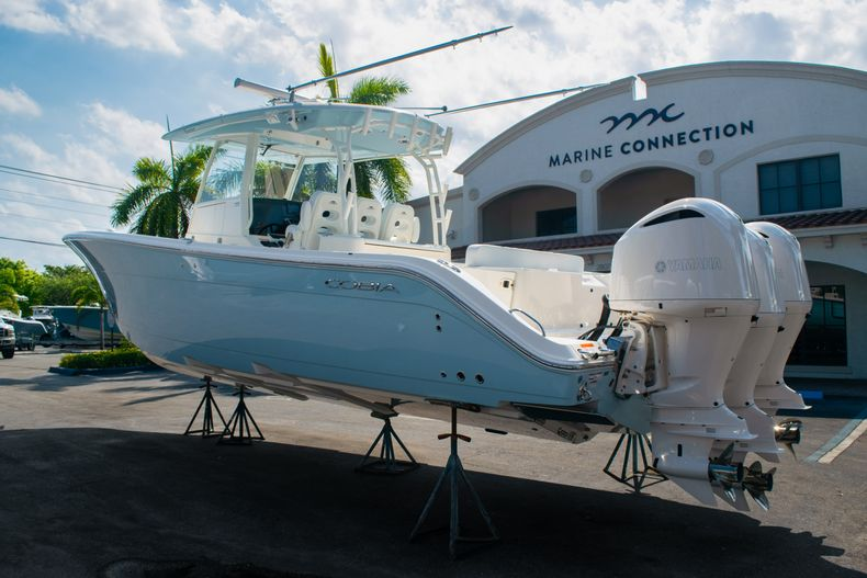 Thumbnail 1 for New 2020 Cobia 350 CC Center Console boat for sale in West Palm Beach, FL