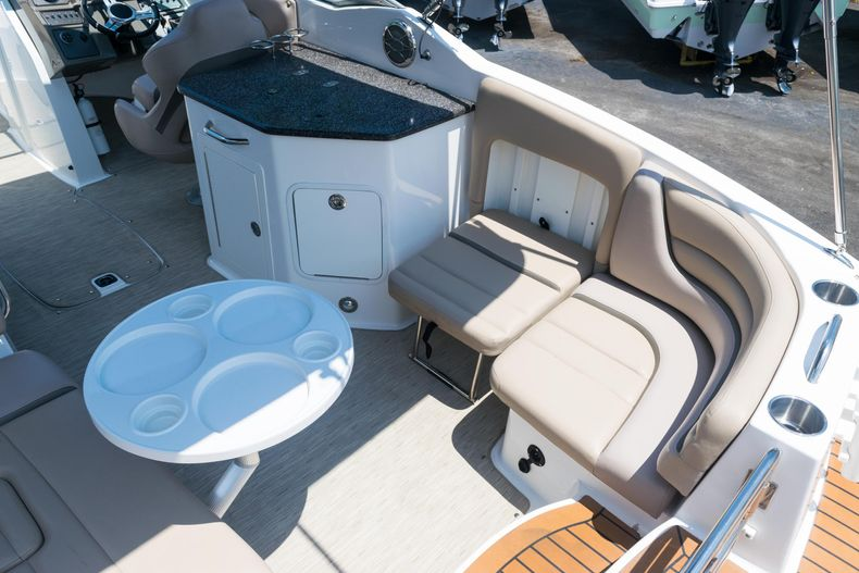 Thumbnail 33 for Used 2015 Hurricane SunDeck SD 2690 OB boat for sale in West Palm Beach, FL