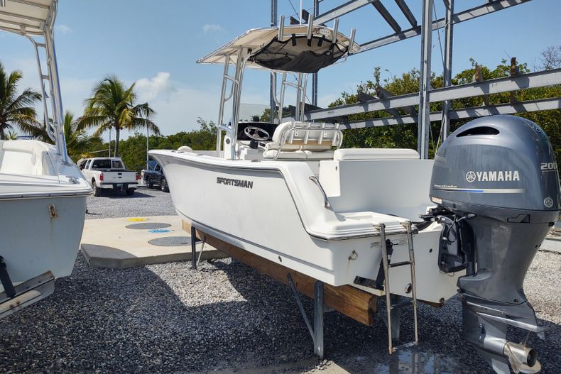 Thumbnail 1 for Used 2015 Sportsman Open 232 Center Console boat for sale in Islamorada, FL