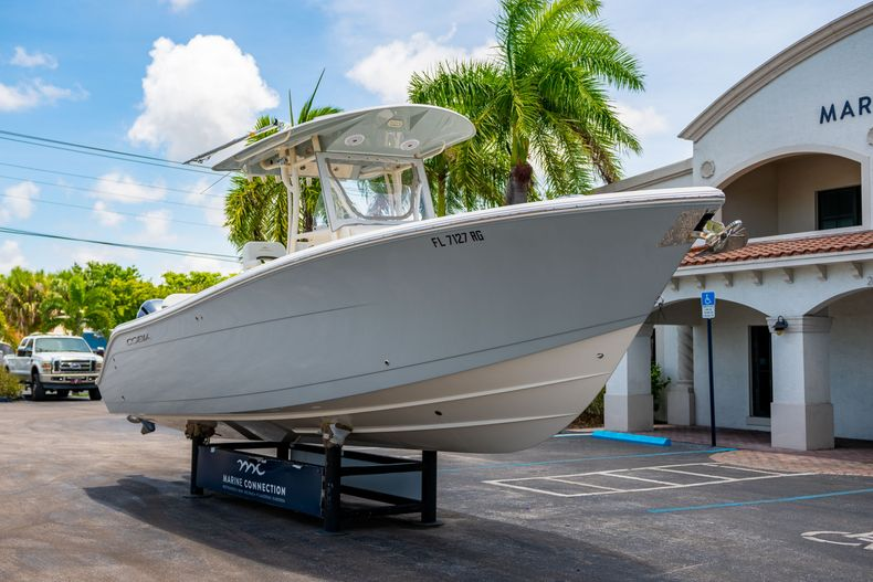 Thumbnail 1 for Used 2017 Cobia 277 CC Center Console boat for sale in West Palm Beach, FL
