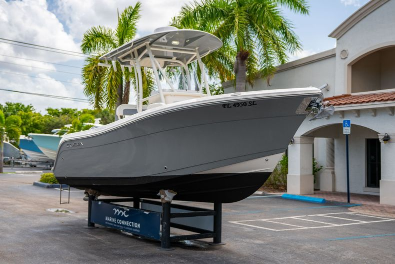 Thumbnail 1 for Used 2020 Cobia 220 CC boat for sale in West Palm Beach, FL