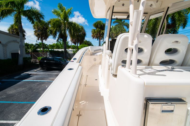 Thumbnail 31 for Used 2019 Cobia 344 Center Console boat for sale in West Palm Beach, FL