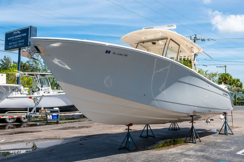 Thumbnail 4 for Used 2019 Cobia 344 Center Console boat for sale in West Palm Beach, FL