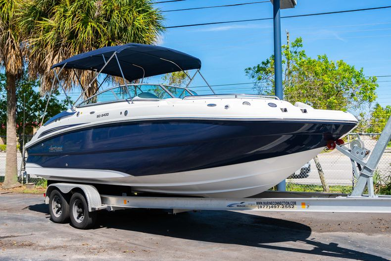 New 2021 Hurricane SunDeck SD 2400 OB boat for sale in West Palm Beach, FL