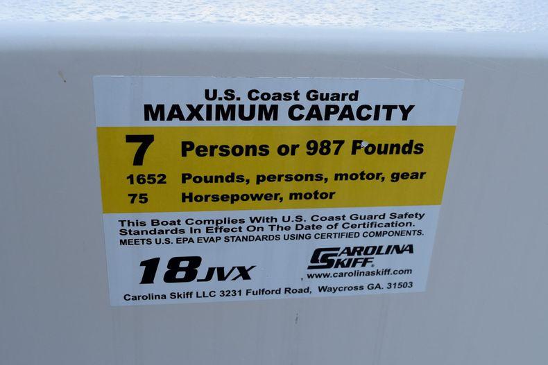 Thumbnail 11 for Used 2015 Carolina Skiff 18 JVX boat for sale in Miami, FL