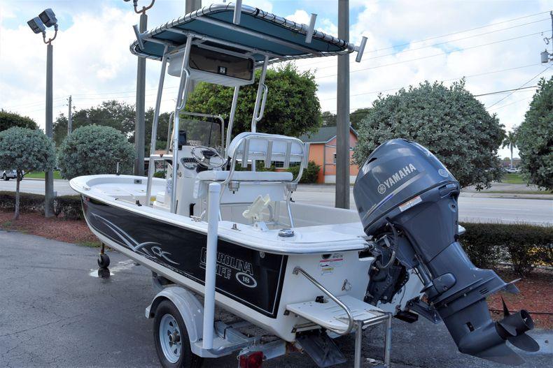 Thumbnail 3 for Used 2015 Carolina Skiff 18 JVX boat for sale in Miami, FL
