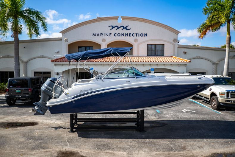 New 2021 Hurricane SunDeck SD 2486 OB boat for sale in Vero Beach, FL