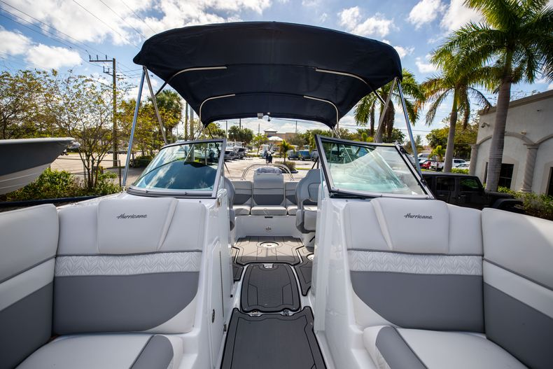 Thumbnail 43 for New 2021 Hurricane SunDeck SD 2486 OB boat for sale in Vero Beach, FL